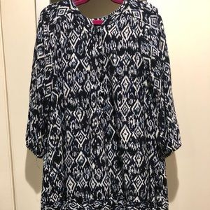Evereve Brave Ikat Tunic Dress